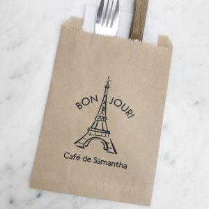 Paris Birthday Favor Bags