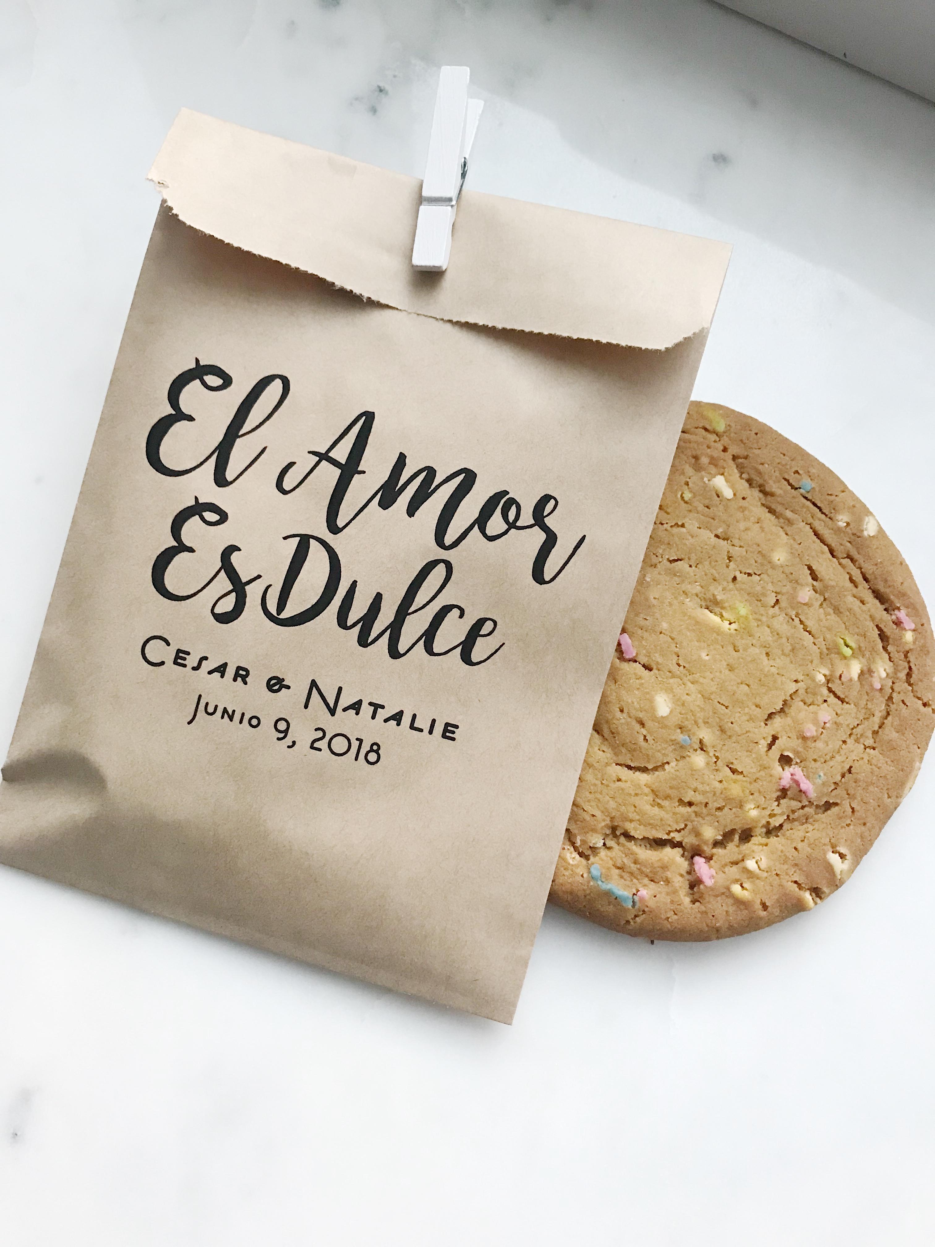 Smore Love Wedding Favor Bags - SALTED Design Studio