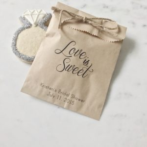 Candy Bar Wedding Favor Bag
