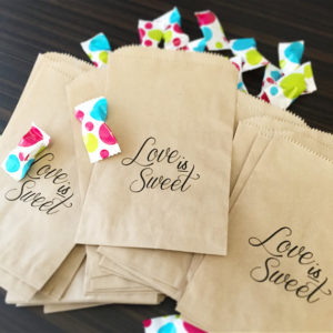 50% Off - Candy Bar Favor Bags
