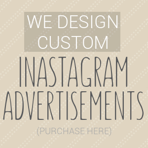 Instagram Advertisement Design