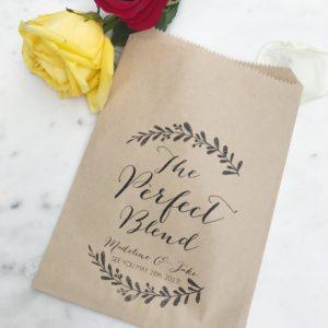 Perfect Blend Wedding Favor Bag
