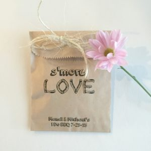 Smore Love Wedding Favor Bags
