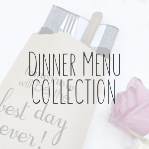 Dinner Menu Collection