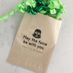 Star Wars Birthday Favor Bags